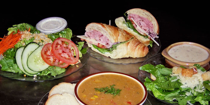 Soup Salad Sandwich